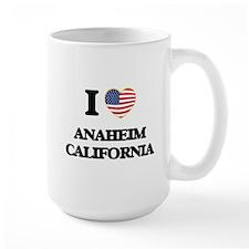 I love Anaheim California USA Design Mugs