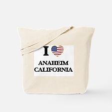 I love Anaheim California USA Design Tote Bag