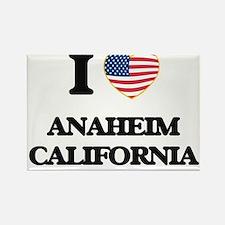 I love Anaheim California USA Design Magnets
