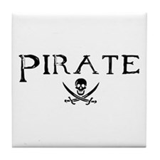 Pirate Tile Coaster