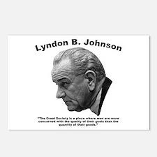 LBJ: Goals Postcards (Package of 8)