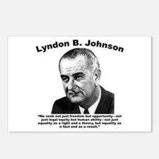 LBJ: Equality Postcards (Package of 8)