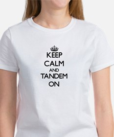 Keep Calm and Tandem ON T-Shirt