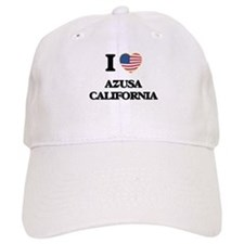 I love Azusa California USA Design Baseball Cap