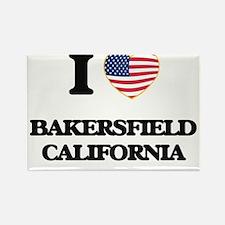 I love Bakersfield California USA Design Magnets