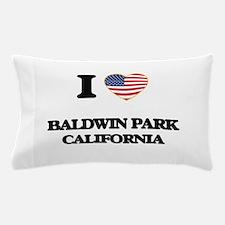 I love Baldwin Park California USA Des Pillow Case