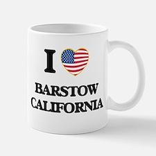 I love Barstow California USA Design Mugs