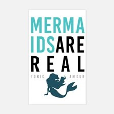 Mermaids Are Real Decal