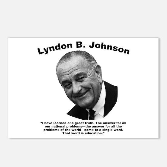 LBJ: Education Postcards (Package of 8)