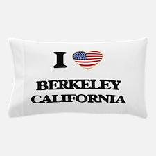 I love Berkeley California USA Design Pillow Case