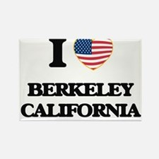 I love Berkeley California USA Design Magnets