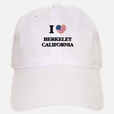 I love Berkeley California USA Design Baseball Baseball Cap