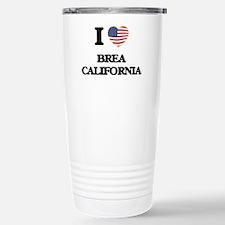 I love Brea California Stainless Steel Travel Mug