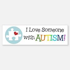 Autism Puzzle - Bumper Bumper Bumper Sticker