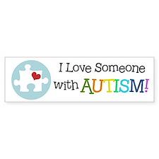 Autism Puzzle - Bumper Bumper Sticker