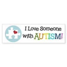 Autism Puzzle - Bumper Car Sticker