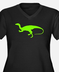 Coelunus Silhouette (Green) Plus Size T-Shirt
