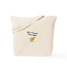 Team runner chick Tote Bag