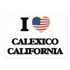 I love Calexico Californi Postcards (Package of 8)