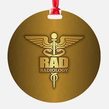 Radiology Gold Ornament
