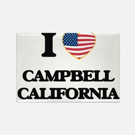 I love Campbell California USA Design Magnets