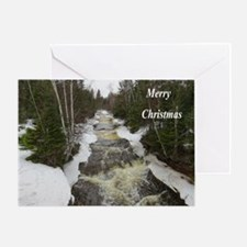 Winter Falls Greeting Cards