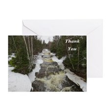 Winter Falls Greeting Cards