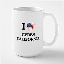 I love Ceres California USA Design Mugs