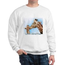 Love Giraffes Sweatshirt