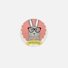 Hipster Easter Mini Button (10 pack)