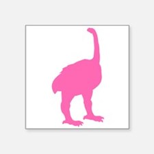 Euryapteryx Silhouette (Pink) Sticker