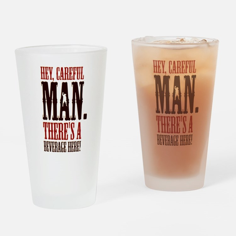 The Big Lebowski Beverage Drinking Glass
