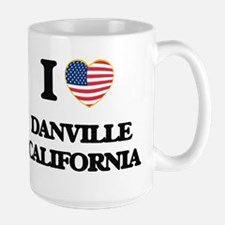 I love Danville California USA Design Mugs