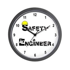 Safety Engineer Wall Clock