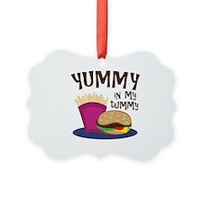 Yummy Tummy Ornament