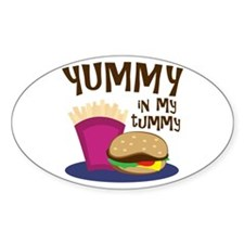 Yummy Tummy Decal