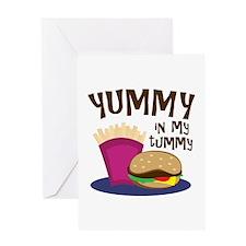 Yummy Tummy Greeting Cards
