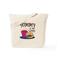 Yummy Tummy Tote Bag