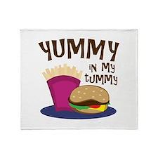 Yummy Tummy Throw Blanket