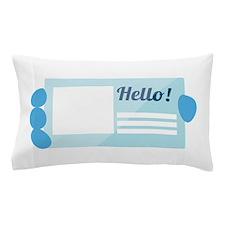 Hello Card Pillow Case