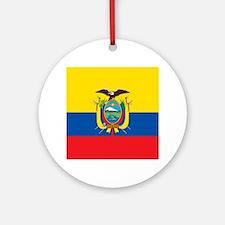 Flag of Ecuador Ornament (Round)
