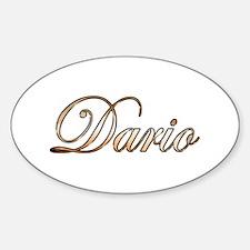 Gold Dario Decal