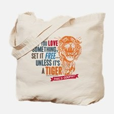 Modern Family Tiger Tote Bag