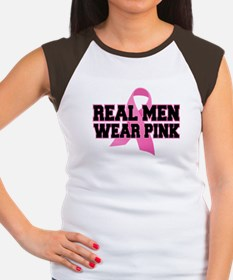 Real Men Wear Pink Women's Cap Sleeve T-Shirt