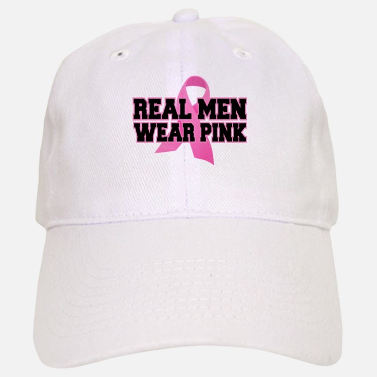 Real Men Wear Pink Baseball Baseball Cap