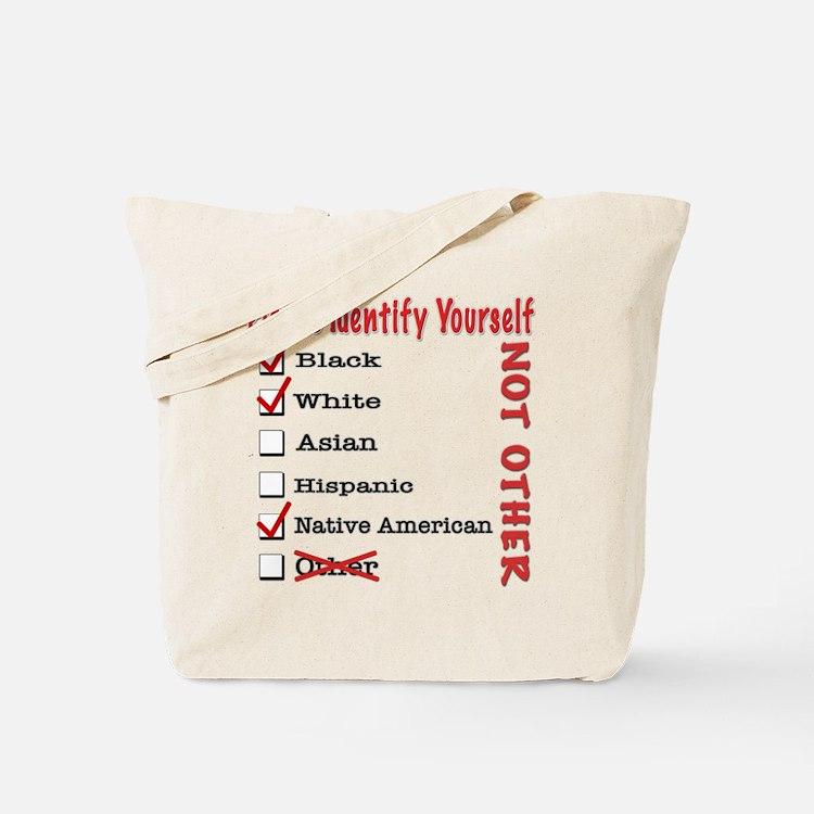 PleaseID-BWNa Tote Bag