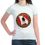 Georgia Carry Jr. Ringer T-Shirt