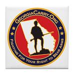 Georgia Carry Tile Coaster