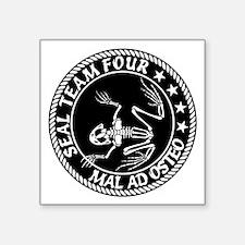 """Seal Team 4 - MAO Square Sticker 3"""" x 3"""""""