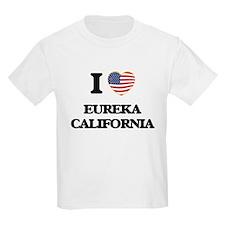 I love Eureka California USA Design T-Shirt
